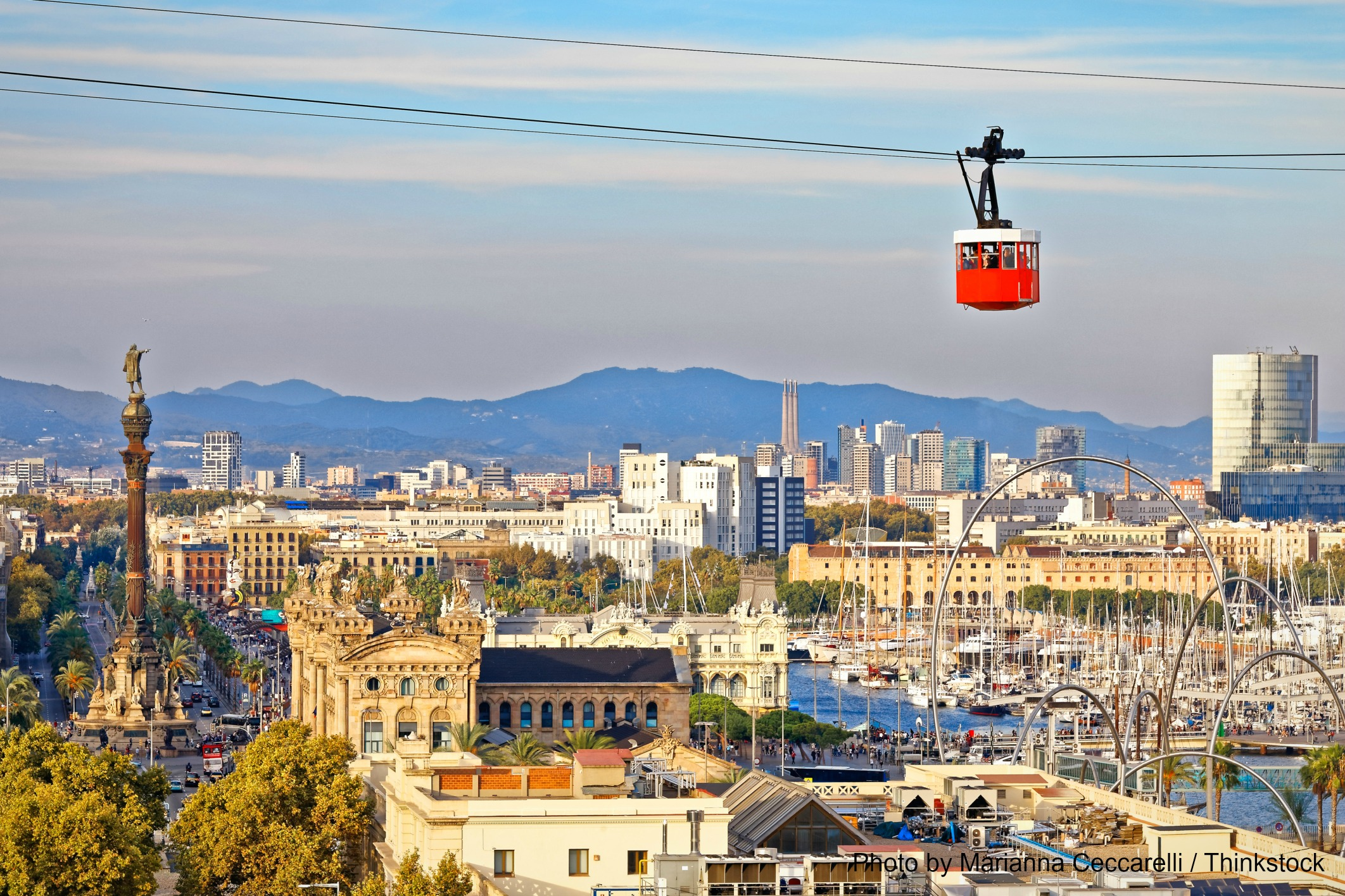 Take a Ride in the Montjuïc Cable Car to See the Best Views in Barcelona