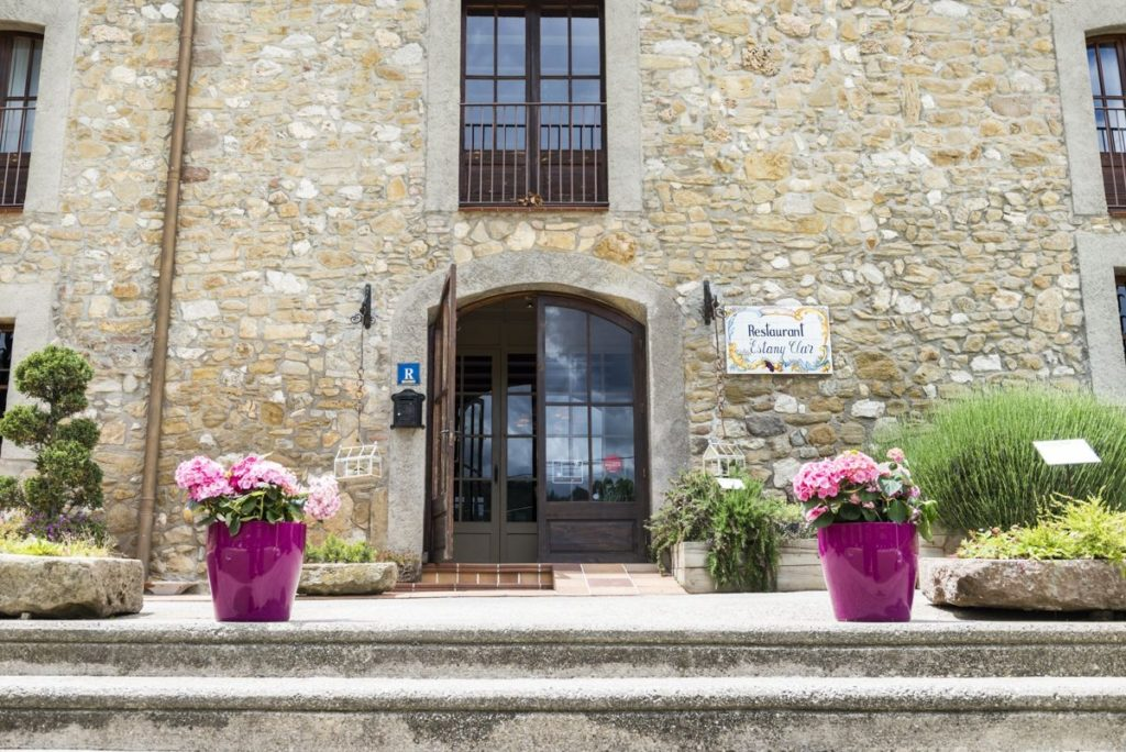 Michelin starred restaurants in Catalonia Estany Clar