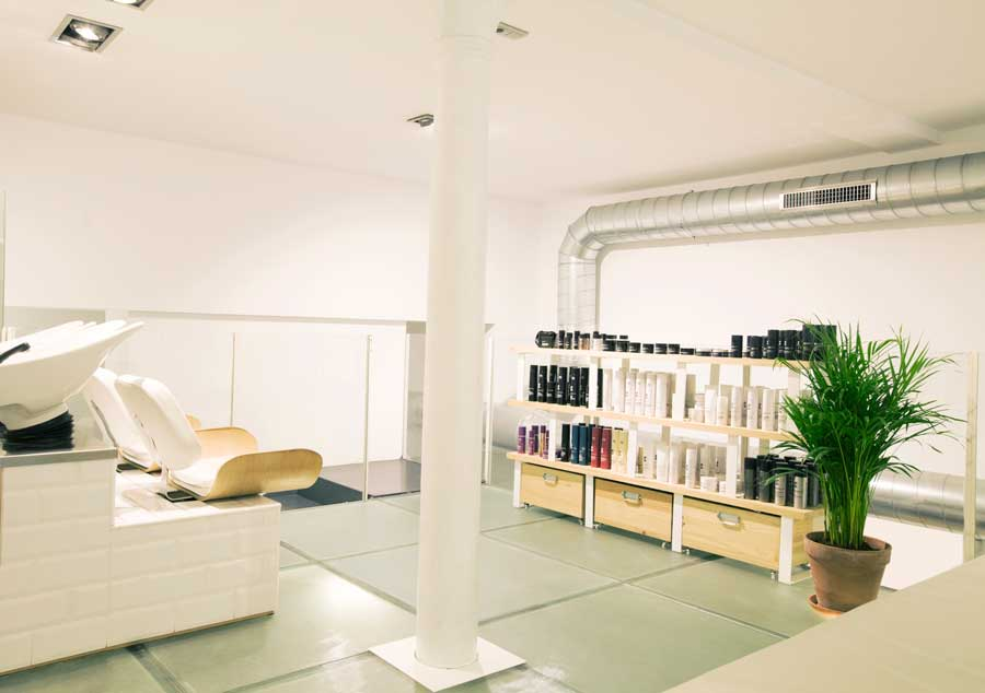 The room - Most fashionable hairdressers in Barcelona