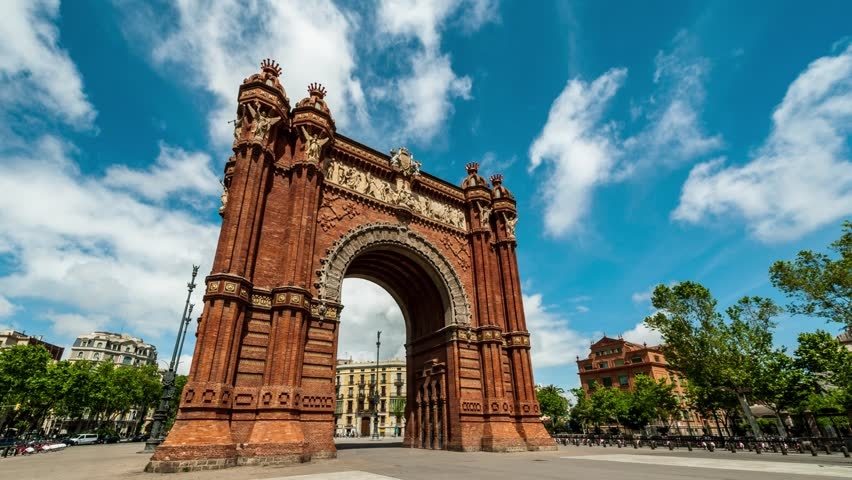 Arc de Triomf - things to see in Barcelona