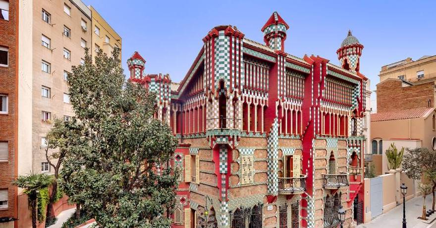 Neighborhood of Gràcia - Casa Vicens