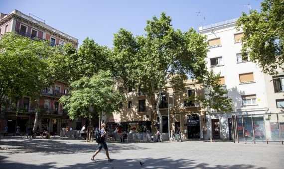 Plaça del Diamant - Neighborhood of Gràcia