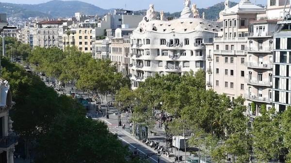 Eixample Barcelona - Passeig de Gràcia
