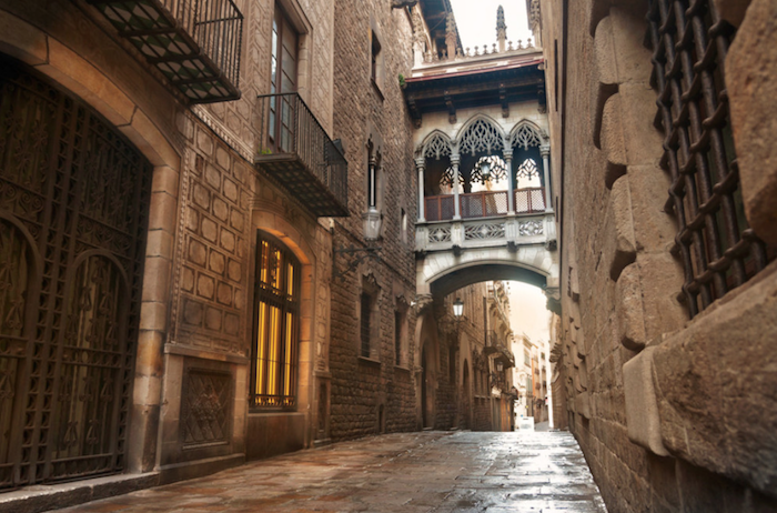 GOTHIC QUARTER - WHERE TO STAY IN BARCELONA