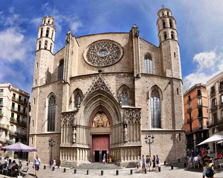 Barcelona Churches - Basílica de Santa Maria del Mar