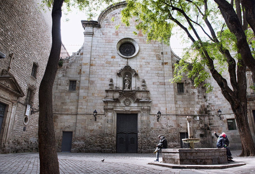 Església de Sant Felip Neri - Barcelona Church