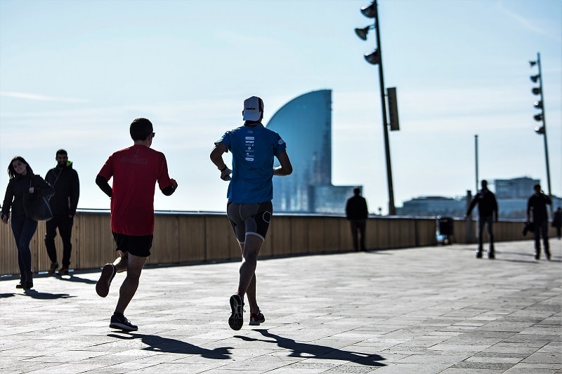 Where to run in Barcelona - Passeig Marítim