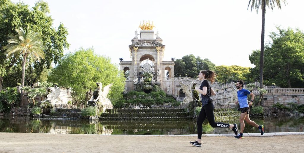 Where to run in Barcelona -Parc de la Ciutadella