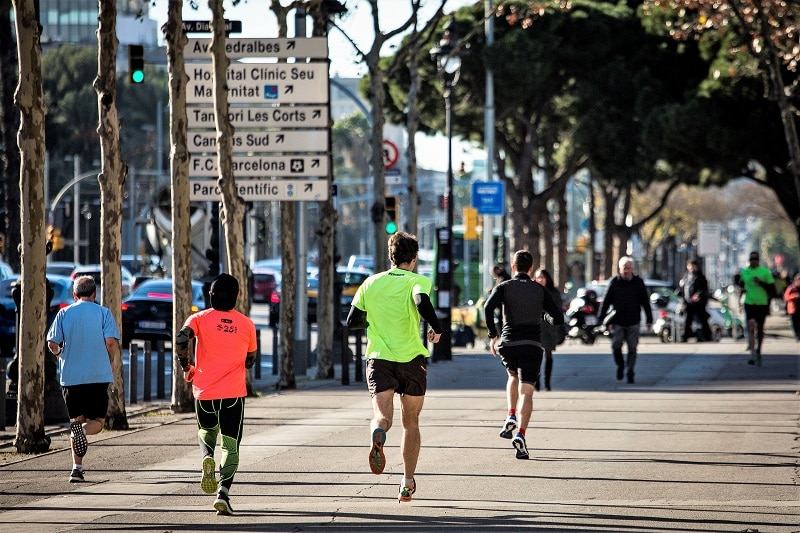 Where to run in Barcelona - Avinguda Diagonal
