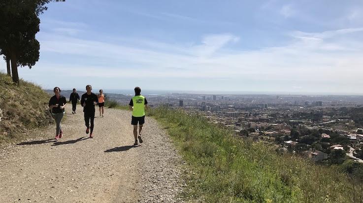 Where to run in Barcelona - Carretera de les Aigües
