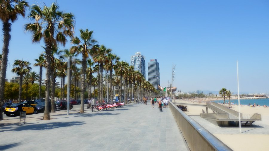 Things to do in Barcelona - Barcelona promenade