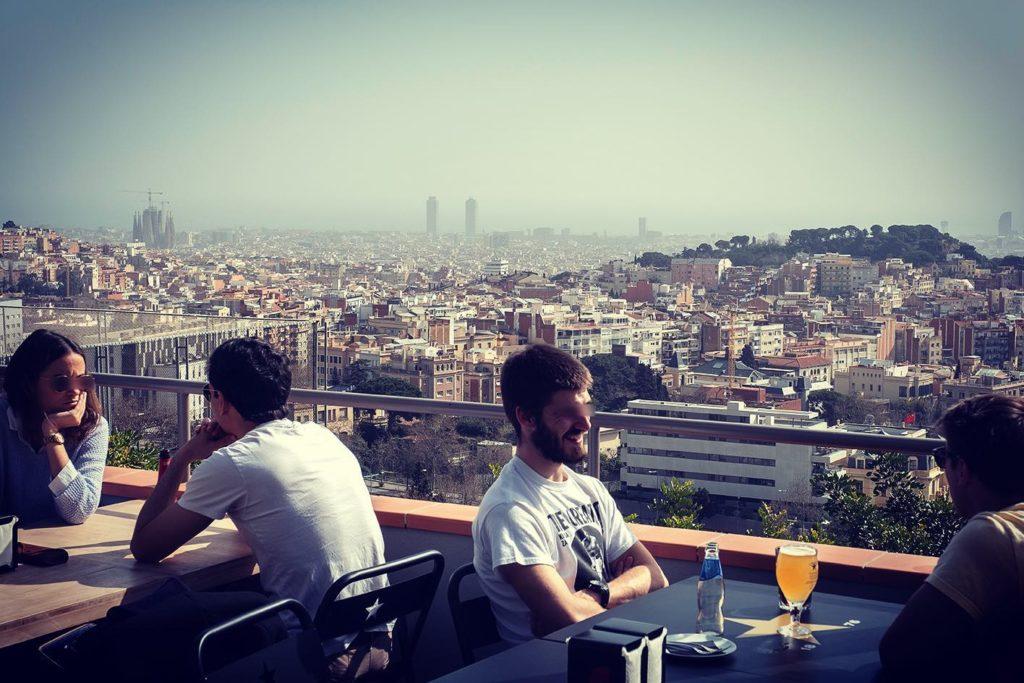 Terraces in Barcelona - Mirablau