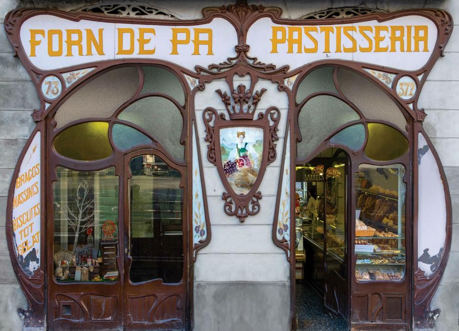 bacelona bakeries - forn sarret