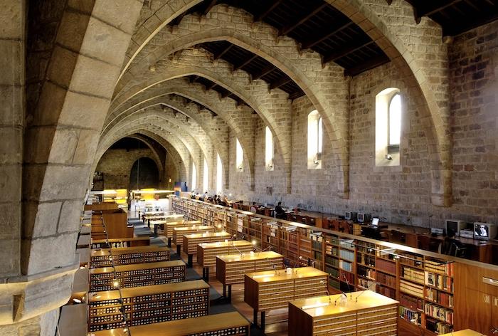 Biblioteca de Catalunya in El Raval