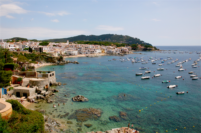 day trips from barcelona - day trip to calella de palafrugell