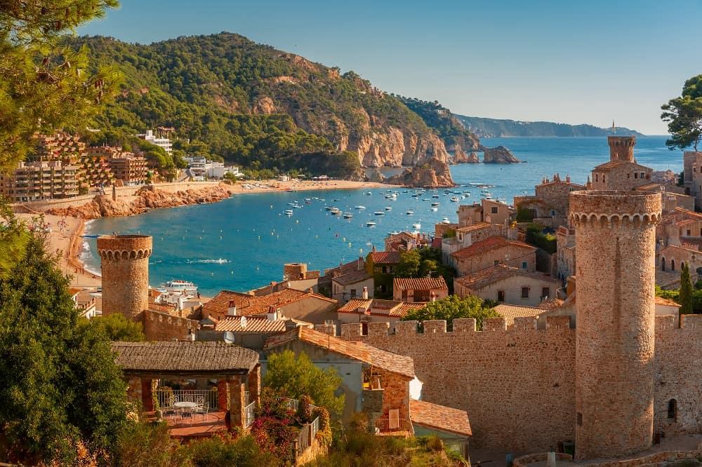 Day trip from Barcelona -  Tossa de Mar