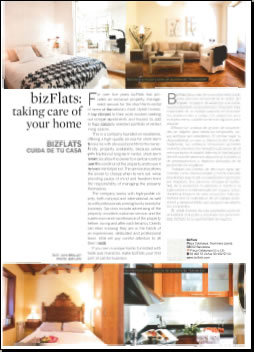 bizFlats: Taking Care of Your Home - Barcelona Deluxe spring 2009